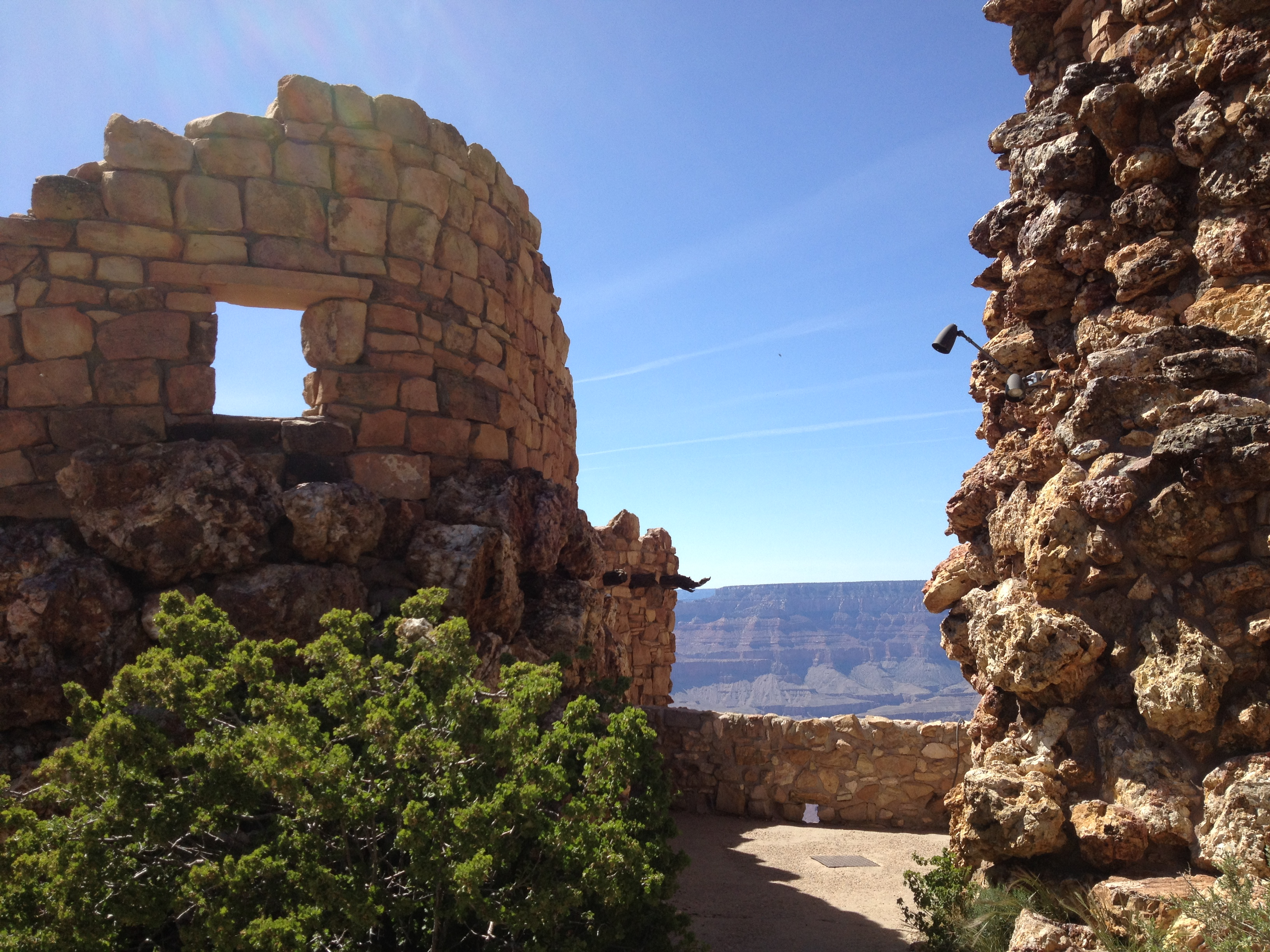 at the tower, grand canyon.